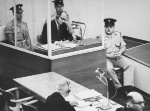 Adolf Eichmann i Jersusalem. Foto: Israel Government Press Office
