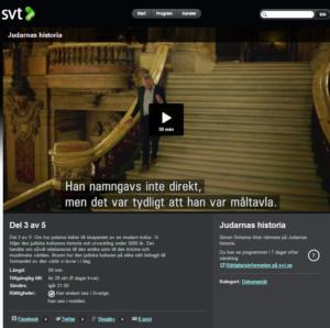 """SVT:s nya presentation av dokumentärserien """"Judarnas historia"""""""
