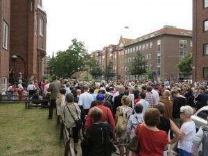 Kippavandring i Malmö: Hatbrotten har mobiliserat både judar och icke-judar i kampen mot antisemitism. Foto: Anders Hjemdahl