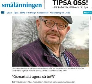 Smålänningen 21 april - Ljungby - judehat är osmart