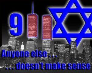 Hatet på nätet oroar många. Exemplet visar antisemitisk propaganda om att judar låg bakom 11/9-attackerna 2001 (skärmbild).