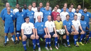 Makkabi Berlins A-lag säsongen 2015/2016. Bild från klubbens hemsida.